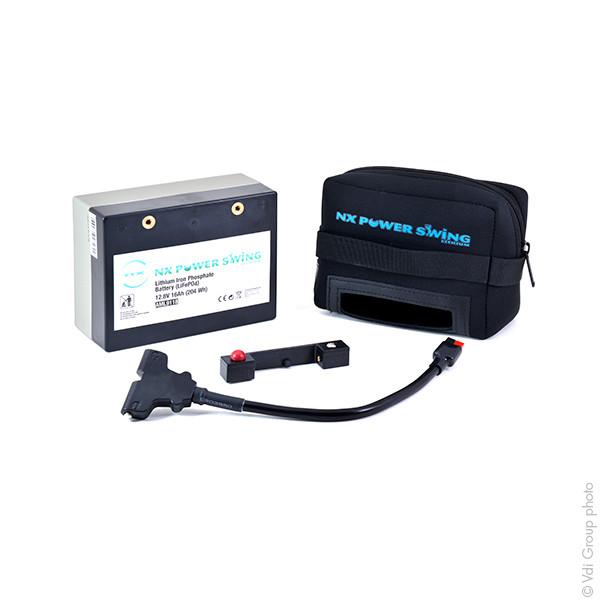 Batterie trolley golf NX 12V 16000mAh - 32805
