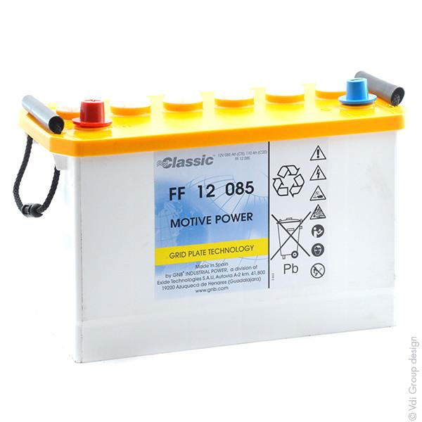 Batterie GNB Classic FF 12V 85000mAh EXIDE FF 12 085 EXIDEFF12085 EXIDEFF 12085