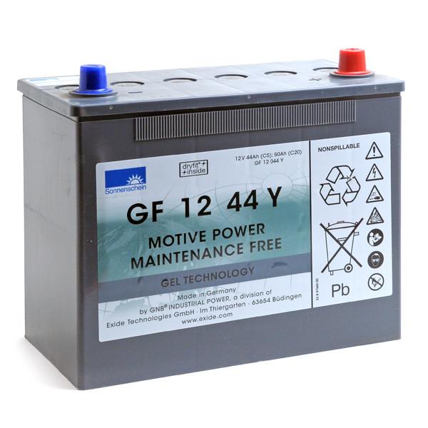 Batterie plomb traction SONNENSCHEIN GF-Y GF12044Y 12V 44Ah Auto