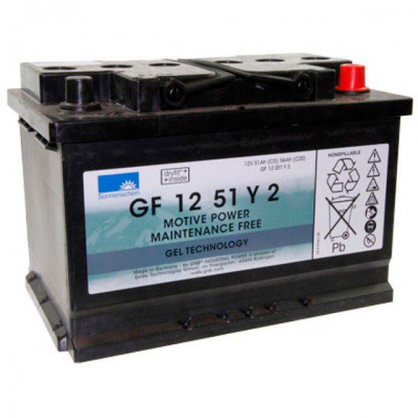 Batterie plomb traction SONNENSCHEIN GF-Y GF12051Y2 12V 51Ah Auto A512C / 56G A512C56G A 512C56G