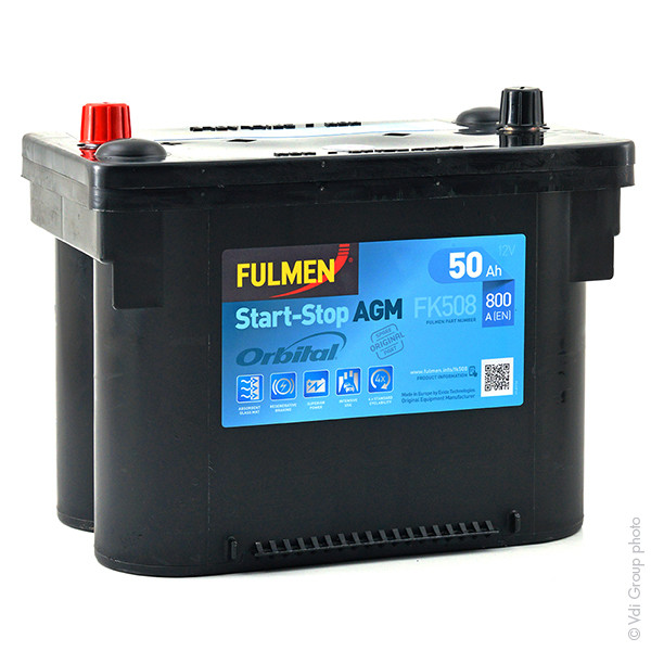 batterie fulmen 12v 50000mah fk508 fk 508 37993 1001 piles batteries. Black Bedroom Furniture Sets. Home Design Ideas