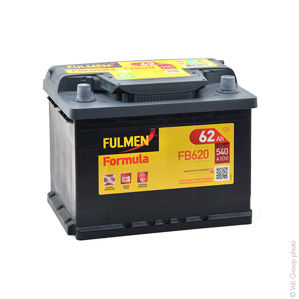 batterie fulmen 12v 62000mah 556400048 560408054 c14 31377 1001 piles batteries. Black Bedroom Furniture Sets. Home Design Ideas