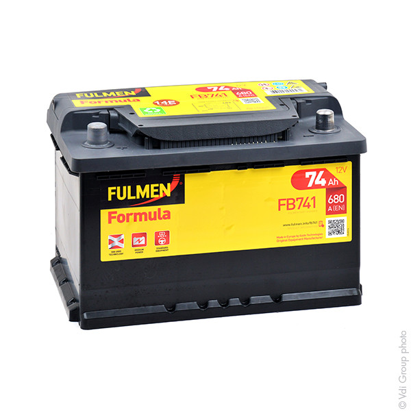 batterie fulmen 12v 74000mah 574013068 e12 e 12 31383 1001 piles batteries. Black Bedroom Furniture Sets. Home Design Ideas