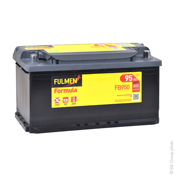 batterie fulmen 12v 95000mah 590122072 600402083 f6 31386 1001 piles batteries. Black Bedroom Furniture Sets. Home Design Ideas