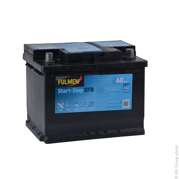 batterie fulmen 12v 60000mah el600 el 600 560 500 064 31486 1001 piles batteries. Black Bedroom Furniture Sets. Home Design Ideas