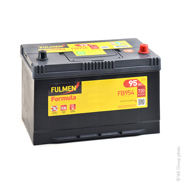 batterie fulmen 12v 95000mah eb1004 eb 1004 eb954 34862 1001 piles batteries. Black Bedroom Furniture Sets. Home Design Ideas
