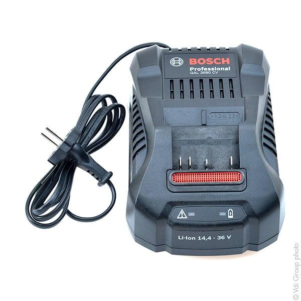 Chargeur bosch 14 4v 36v li ion gal3680cv al3640cv al 3640cv al3640 cv 21635 1001 piles - Batterie black et decker 18v ...