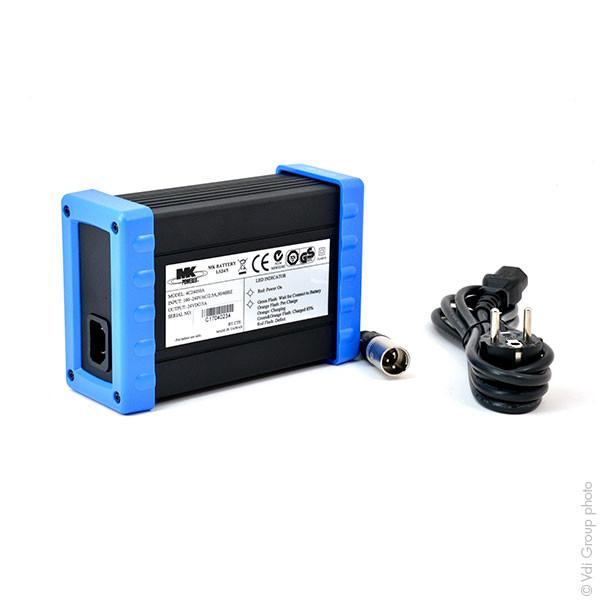 Chargeur plomb MK LS24/5 24V/5A 110-230V (Intelligent) LS24-5 LS245 LS 245