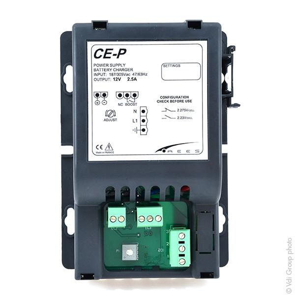 Chargeur plomb / alimentation 12V/2.5A 100-230V (Intelligent) - 38158