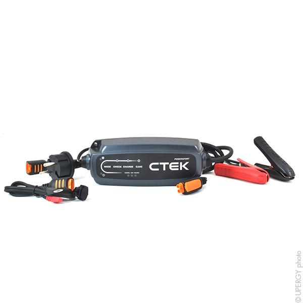 Chargeur plomb CTEK CT5 POWERSPORT 12V/2.3A 230V (Intelligent) 40136 40-136