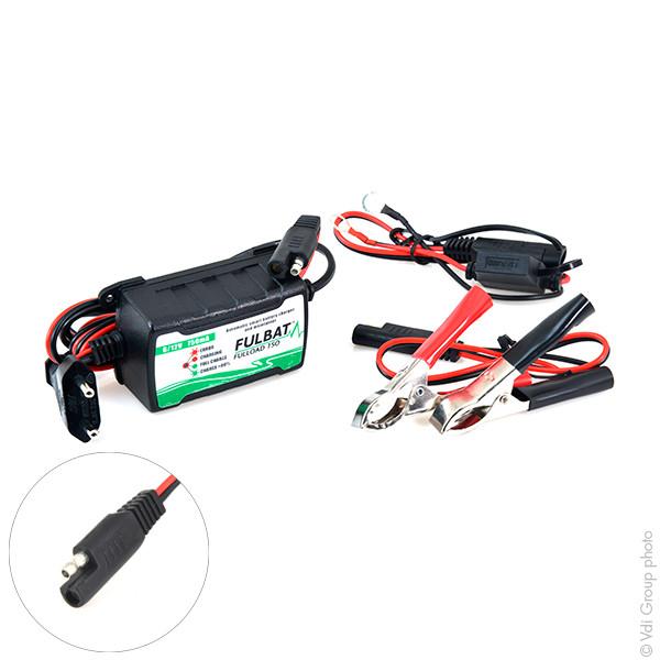 Chargeur plomb/Maintien de charge FULLOAD 750 6-12V/0.75A 100-240V - pinces croco (Intelligent) FULLOAD 750 FULLOAD750
