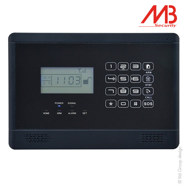 Centrale d'alarme MB Security Alarm@home GSM - 33750