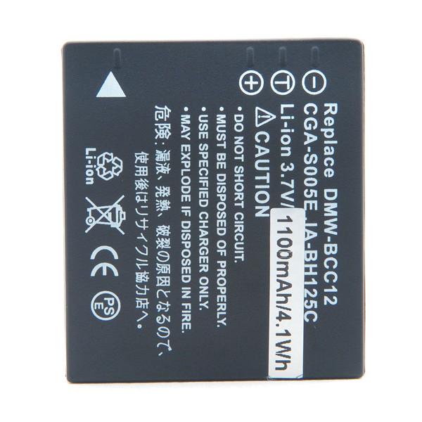 Batterie appareil numérique NX 3.7V 1150mAh CGA-S005E CGAS005E DMW-BCC12 - 18489