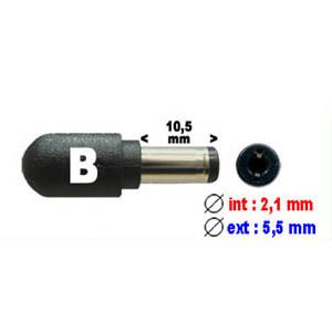 Connecteur B pour alimentation ordinateur portable (2.1 X 5.5 mm) DY-CT180B DYCT180B DYCT 180B - 19397